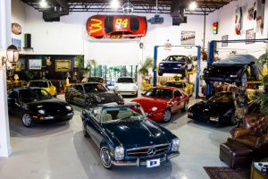 Orlando Classic Car Showroom